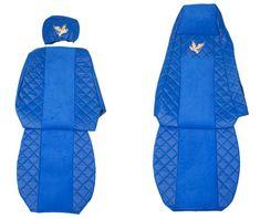 F-CORE Poťahy na sedadlá FX03, modré