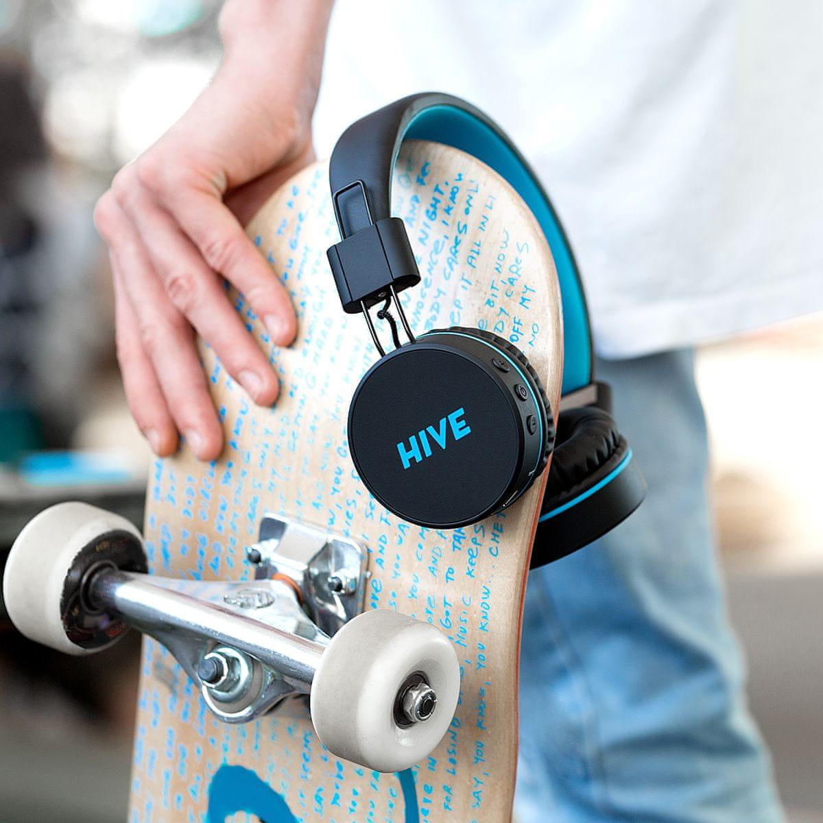 Niceboy HIVE vezeték nélküli Bluetooth fejhallgató 13 órányi