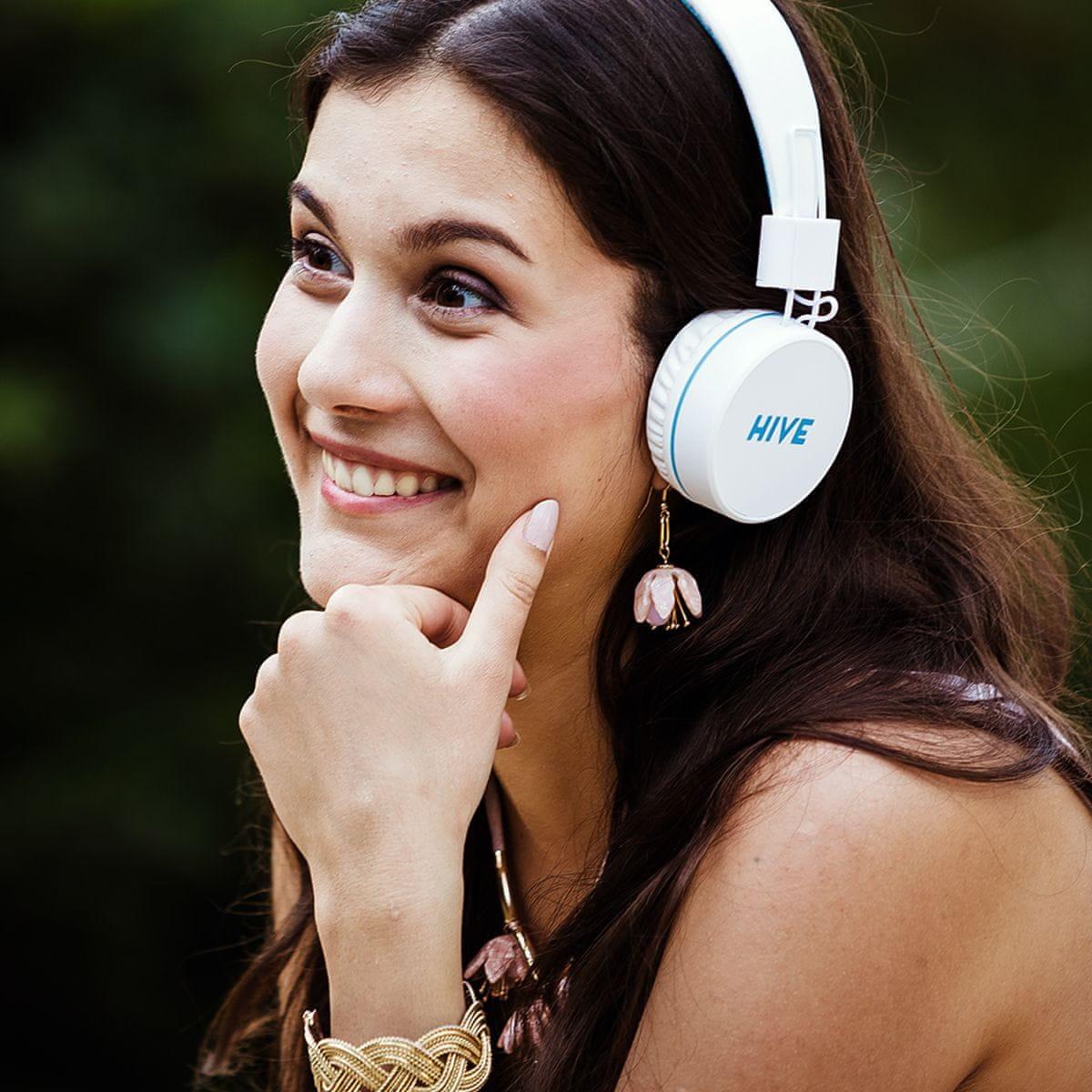 vezeték nélküli Niceboy HIVE fejhallgató kiváló hangzású fejhallgató és fülhallgató