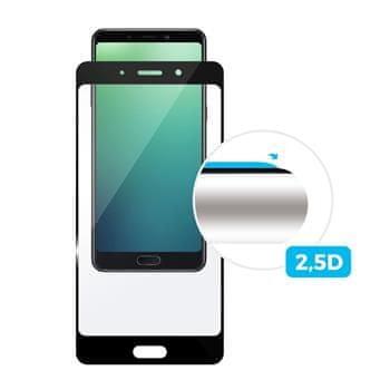 Fixed Ochronne szkło hartowane dla Huawei Y7 Prime (2018), na cały ekran, czarne, 0.33 mm FIXGF-309-BK