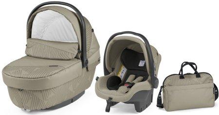 PEG PEREGO wózek dziecięcy 3w1 Modular XL, Geo Beige