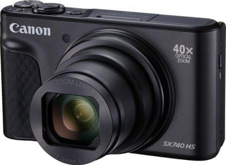 Canon fotoaparat PowerShot SX740 HS, črn