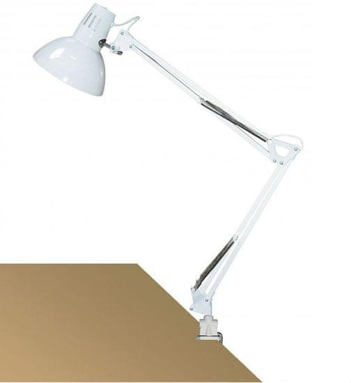 Rabalux Stolní lampa ARNO, LED 60W, 230V bílá