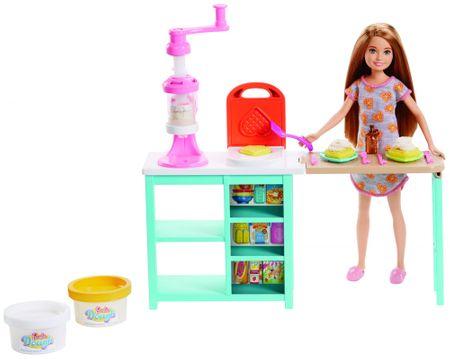 Mattel zajtrk Barbie Stacie, set