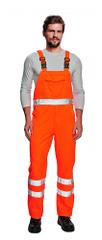 Cerva Reflexné nohavice na traky Koros oranžová 56