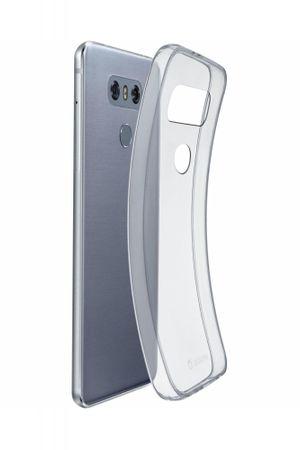 CellularLine gumijast ovitek Fine za LG G6, prozoren