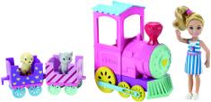 Mattel Barbie Chelsea z vlakom