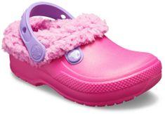 Crocs otroški natikači Classic Blitzen III Clog Candy Pink/Party Pink, roza