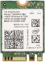Intel Dual Band Wireless-AC 7265, M.2 (7265.NGWWB.W)