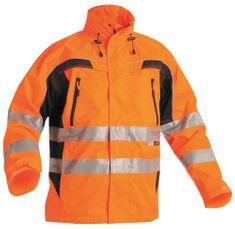 Cerva Reflexná pracovná bunda Ticino pánska oranžová XXXL