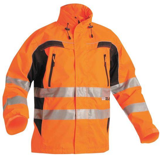 Cerva Reflexná pracovná bunda Ticino pánska oranžová XL