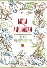 autor neuvedený: Moja kuchárka – Zápisník najlepších receptov