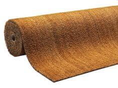 FLOMAT Béžová kokosová čistící vnitřní vstupní rohož Natural Coco, FLOMAT - 1,5 cm
