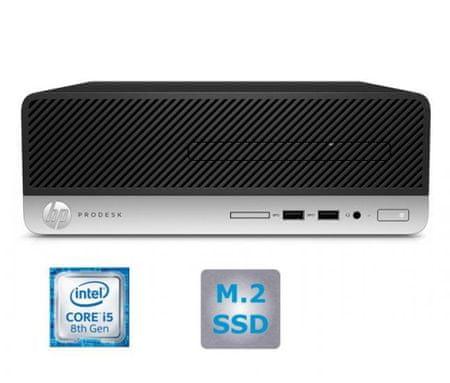 HP namizni računalnik ProDesk 400 G5 SFF i5-8500/8GB/SSD256GB/W10P (4CZ70EA#BED)