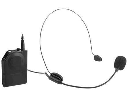 Trevi EM 408-R mikrofon brezžični naglavni - Odprta embalaža