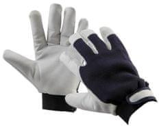Červa Zimné pracovné rukavice Pelican Blue 9