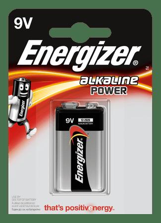 Energizer Energizer Alkaline Power 9V 1 pack EB007