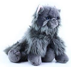 Rappa pluszowy kot brytyjski szary 30 cm