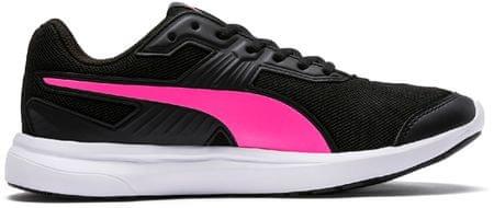 Puma ženski športni čevlji Escaper Mesh Black Knockout Pink, 37, črno-roza