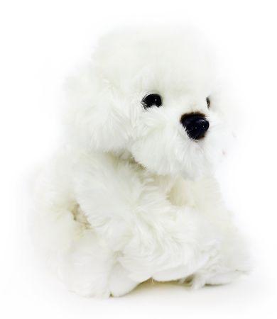 Rappa Plüss ülő bichon kutya 30 cm