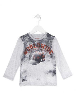 Losan chlapecké tričko 98 šedá