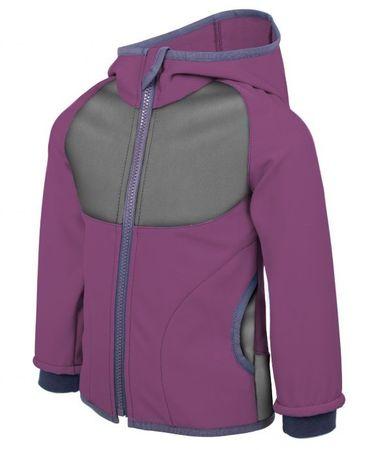 Unuo ženska softshell jakna, robida, 68 - 74, vijolična