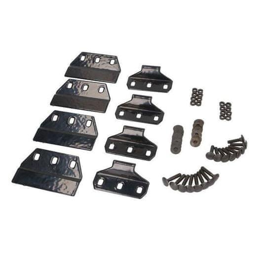 JOPE Montážní kit patky (4 ks), typ střechy: podélníky, pro vozy BMW X3 E83, 5 dv., 10-; BMW X5 F15, 5 dv., 13-