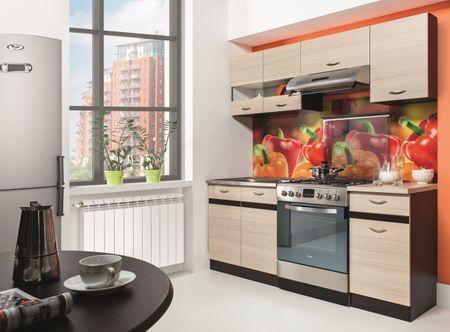 Kuchyně BELISA 120/180 cm, rijeka světlá