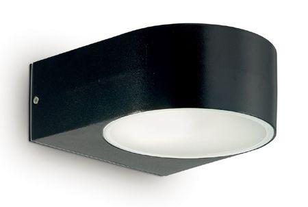 Ideal Lux zunanja stenska svetilka Iko AP1 nero 018539, črna