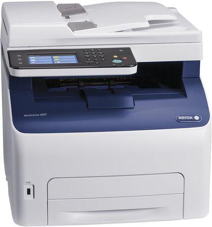 Xerox barvna večopravilna naprava WorkCentre 6027ni, USB, mreža, Wifi