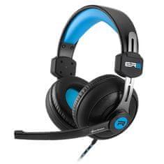 Sharkoon slušalke Rush ER2, črno/modre