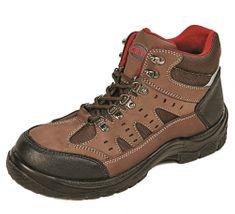 d52ac90c3b87 CRV Pracovná obuv Coombe S1P hnedá 39