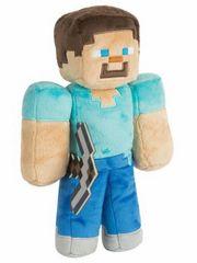 Plüss Minecraft - Steve csákánnyal