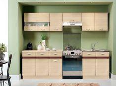 Kuchyně BELISA 200/260 cm, rijeka světlá