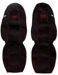 F-CORE Poťahy na sedadlá CS11 RD, čierne