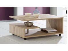 ARAGON, konferenční stolek, dub sonoma