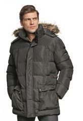 Otto Schachner Predĺžená zimná bunda Ans Long Parka čierna XL