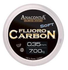 Anaconda Fluoro Carbon Stiff Tuhý 50 m Čirá