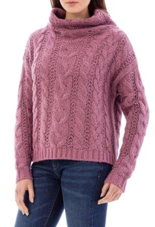 Timeout női pulóver XS rózsaszín