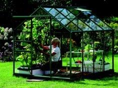 VITAVIA skleník VITAVIA VENUS 5000 číre sklo 3 mm zelený