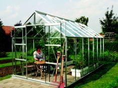 VITAVIA skleník VITAVIA URANUS 11500 číre sklo 3 mm strieborný