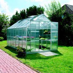 VITAVIA skleník VITAVIA URANUS 11500 PC 6 mm strieborný