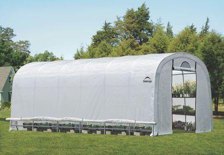 ShelterLogic fóliasátor – melegház SHELTERLOGIC 3,7 x 7,3 m - 41 mm - 70593EU
