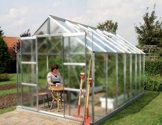 VITAVIA skleník VITAVIA URANUS 11500 matné sklo 4 mm strieborný