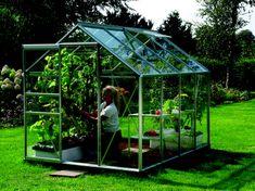 VITAVIA skleník VITAVIA VENUS 5000 číre sklo 3 mm strieborný