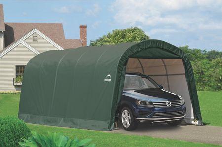 ShelterLogic ponyva garázs SHELTERLOGIC 3,7 x 6,1 m - 62760EU