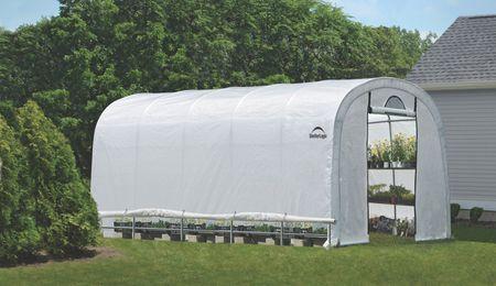ShelterLogic fóliasátor – melegház SHELTERLOGIC 3,7 x 6,1 m - 41 mm - 70592EU