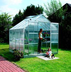 VITAVIA skleník VITAVIA URANUS 6700 PC 4 mm strieborný