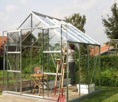 VITAVIA skleník VITAVIA URANUS 6700 číre sklo 3 mm strieborný
