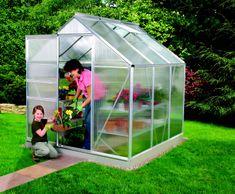 VITAVIA skleník VITAVIA VENUS 3800 PC 4 mm strieborný